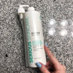 Serious Skincare Jumbo Size Glycolic Cleanser
